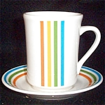 Syracuse Spectrum Cup And Saucer