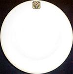 Syracuse Thistle Logo Rim Soup Bowl