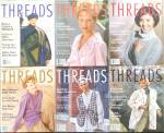 6 Issues Full Year Threads Magazine 1996