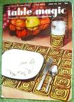 Vintage Crochet Booklet Table Magic Placemats Doilies