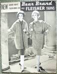 Vintage Knitting Fashion Book 1960 Elegant Retro