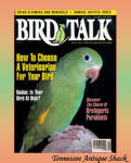Bird Talk Magazine January 1995 Parakeets