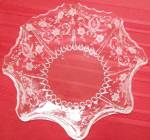 New Martinsville Prelude Pattern Etched Glass Bowl