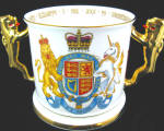 Queen Elizabeth Ii 2002 Golden Jubilee L/e Paragon Loving Cup.