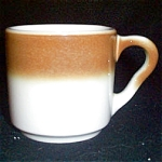 Syracuse Brown Rim Mug