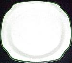 Syracuse Green Trim Salad Plate