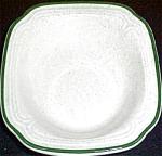Syracuse Olympus Green Trim Cereal Bowl