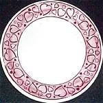 Syracuse Romantic Hearts Dessert Plate