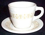 Syracuse Classic Bronze Cup And Saucer