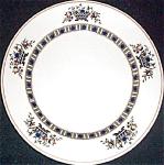 Syracuse Black Virginia Salad Plate