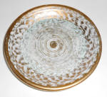 Stangl Pottery Antique Gold #3434 Coaster/ashtray Mint