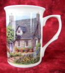 Hill Cottage And Garden Mug English Bone China New Adderley