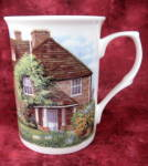 Waterwheel Cottage And Garden Mug English Bone China New