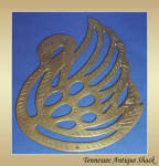 Brass Swan Trivet