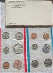 1968-pds U.s. Treasury Mint Set In Original White Envelope 10 Coins