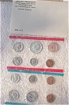 1969-pds U.s. Treasury Mint Set In Original White Envelope 10 Coins