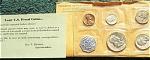 1959 U.s. Treasury Brilliant Gem Silver Flat Pack Proof Set 5 Coins