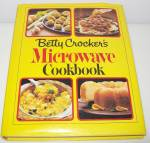 Betty Crocker Microwave Cookbook - Hardcover