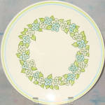 Taylor Smith Taylor Green Garland Dinner Plate