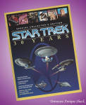Star Trek 30 Years Collector's Edition With Federation Map