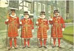 Tower Of London Yeoman Warders In Ceremonial Dress Cs10176