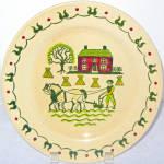 Metlox Homestead Provincial Dinner Plate