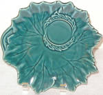 Steubenville Woodfield Teal Green Snack Plate