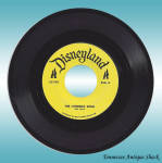 Disneyland Record Litterbug Song Jiminy Cricket