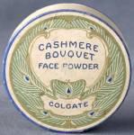 Vintage Cashmere Bouquet Powder Box Peacock Graphics