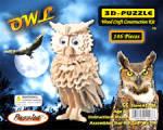 Owl Model Wood Craft Construction Kit