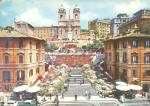 Rome Italy Platz Des Spanniens Trinita Dei Monti Cs10406