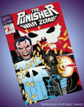 The Punisher War Zone #1 Die Cut Cover