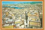 Genoa Genova Italy Panorama At Port Postcard Cs10416