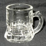 Federal Clear Glass Mini Beer Mug