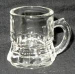 Federal Clear Glass Mini Beer Mug