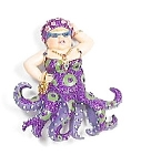 December Diamonds Miss Fran Octopus Magnet