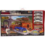 Power Trains Log Loader Express Set, Mib