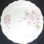 C.c. Thompson Chatham Rose Dinner Plate