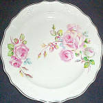 C.c. Thompson Chatham Rose Dessert Plate