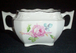 C.c. Thompson Chatham Rose Sugar Bowl