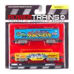 Power Trains Graffiti Freight 2 Car Pack, Mib
