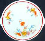 Universal Floral Cake Plate