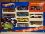 2011 Hot Wheels Gift Pack 9 Count Box Pack No. 12, Mib