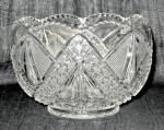 Higbee Twin Teardrops Clear Bowl