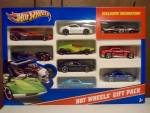 2011 Hot Wheels Gift Pack 9 Count Box Pack No. 2, Mib