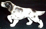 English Setter Ceramic Figurine