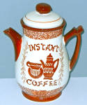 Relco Coffeepot Instant Coffee Cannister