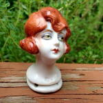 1920s Bisque/porcelain 15844 Germany Half Doll Head
