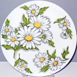 Texas Ware Daisy Dinner Plate