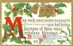 Christmas Divided Back Card P33684